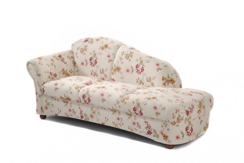 Recamiere Sofa Ottomane Chaiselounge Landhaus Floral