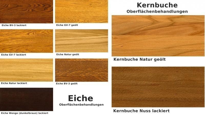 Highboard Vitrinenschrank Sideboard Wohnzimmerschrank Eiche massiv ...
