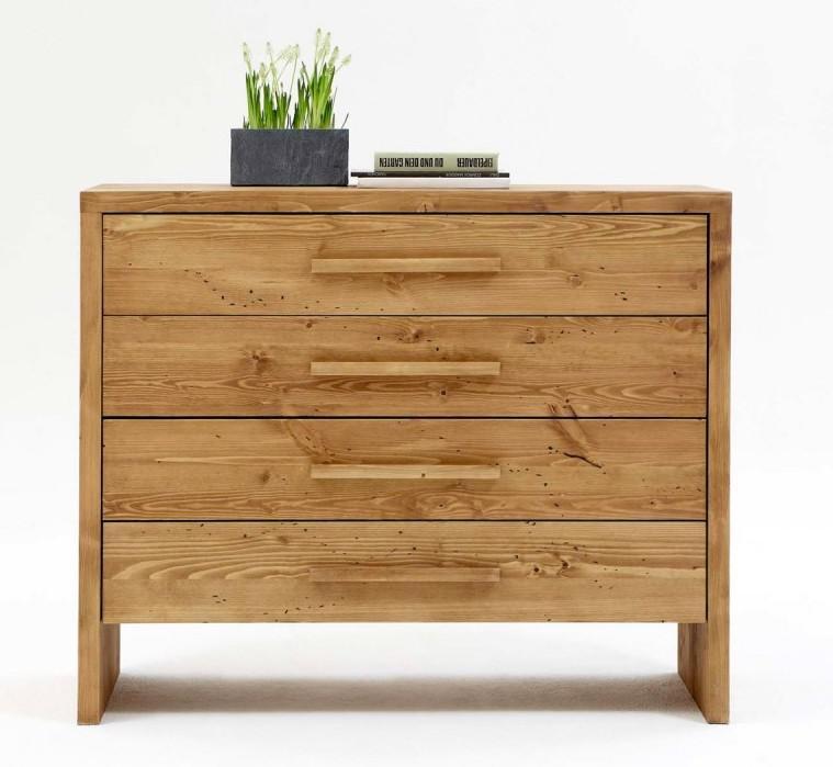 kommode w schekommode 4 schubladen kiefer fichte massiv gewachst gebrauchsspuren kaufen bei. Black Bedroom Furniture Sets. Home Design Ideas