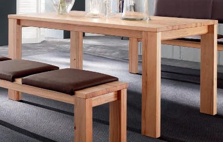 Esstisch Tisch Esszimmertisch Esszimmer Küche Kernbuche massiv geölt ...