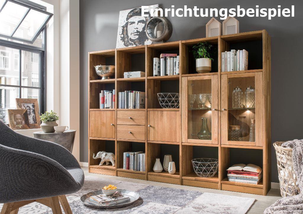 regal b cherregal standregal 20 f cher b roregal wildeiche massiv aufbewahrung kaufen bei saku. Black Bedroom Furniture Sets. Home Design Ideas