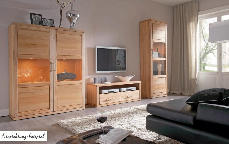 tv board lowboard tv anrichte tv konsole tv m bel kernbuche massiv ge lt kaufen bei saku. Black Bedroom Furniture Sets. Home Design Ideas