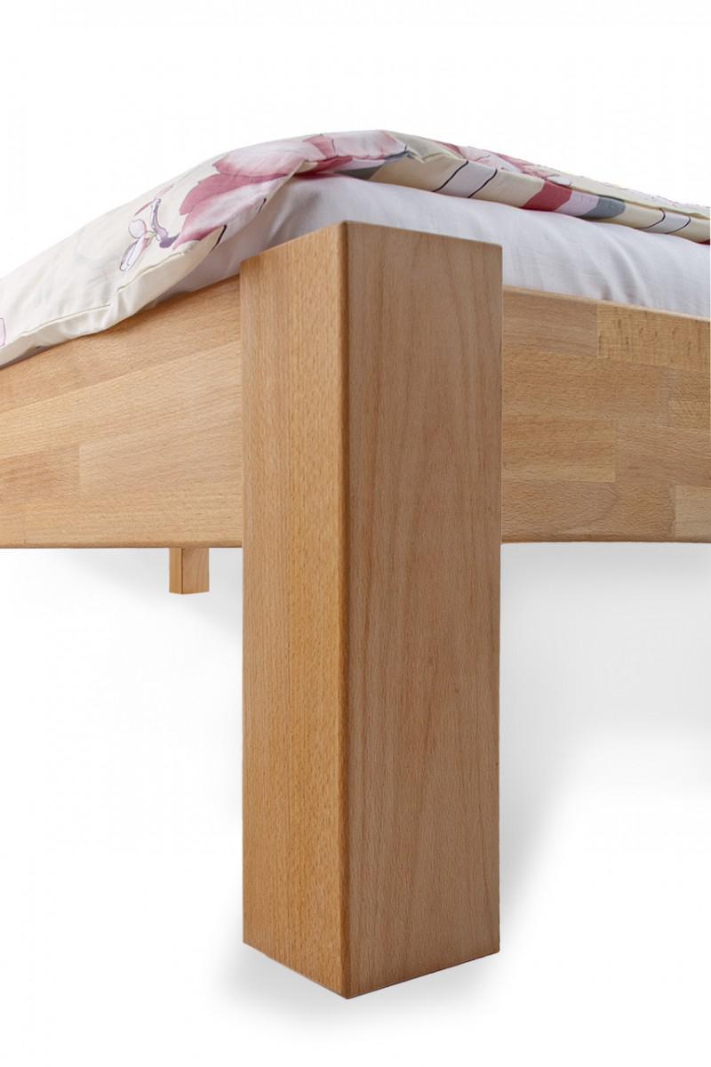 Bett Jugendbett Doppelbett Holzbett Schlafzimmer Buche Massiv Versch