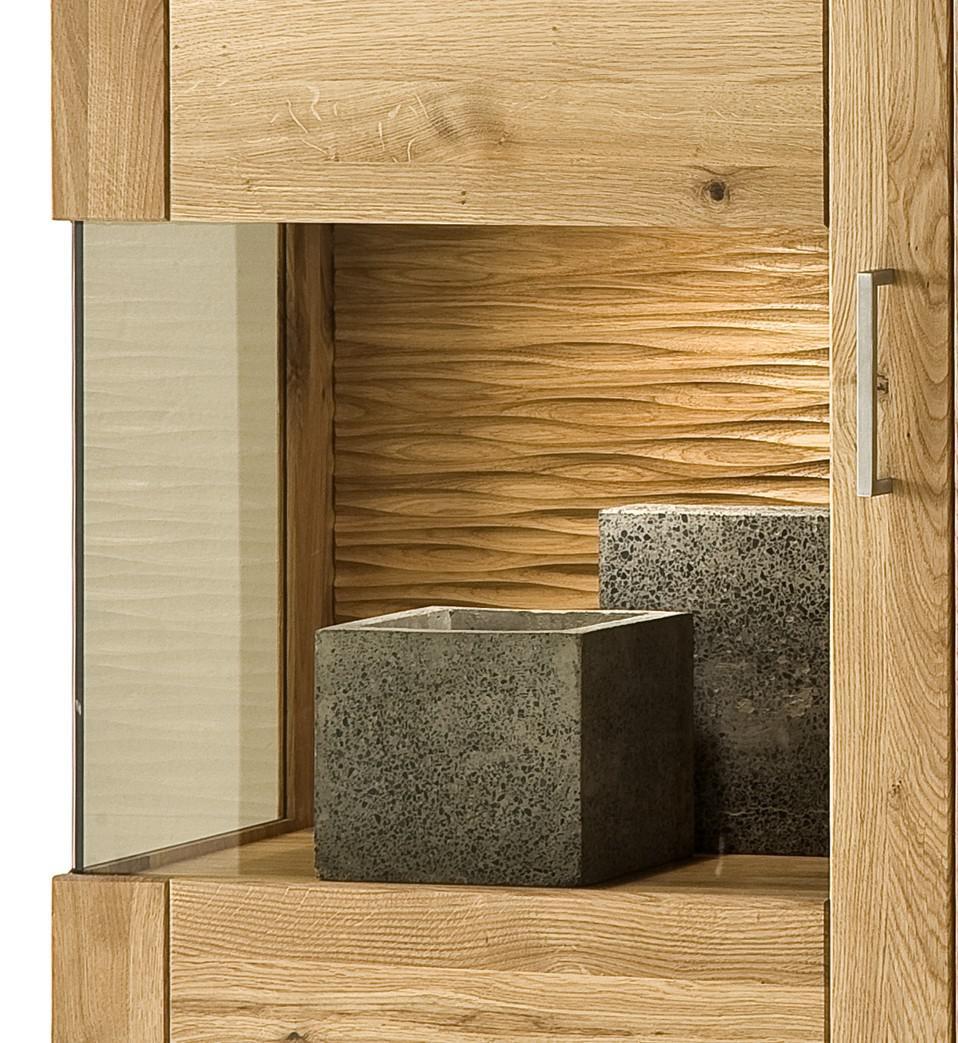 H ngeschrank wandschrank schrank vitrine wohnzimmer wildeiche ge lt modern kaufen bei saku - Esszimmer vitrine modern ...
