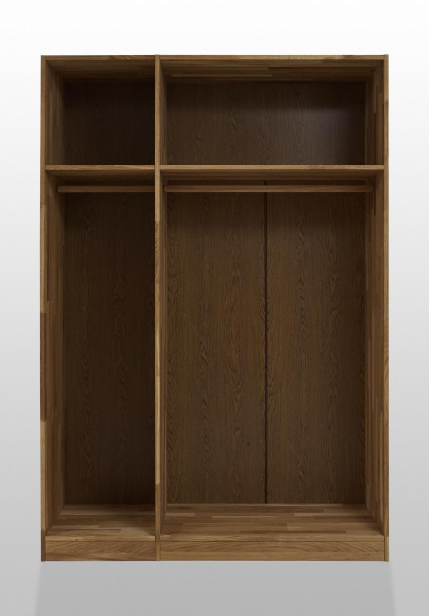 kleiderschrank schlafzimmerschrank schrank 3 trg schlafzimmer wildeiche massiv kaufen bei saku. Black Bedroom Furniture Sets. Home Design Ideas