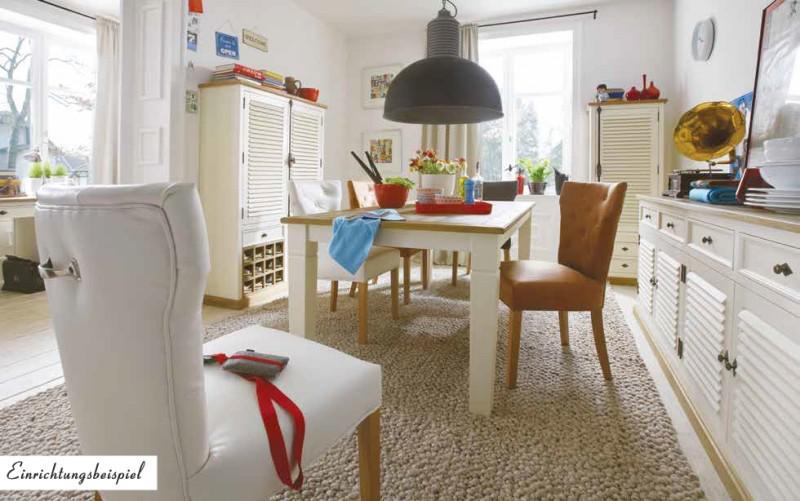 esstisch k chentisch tisch 160 pinie wildeiche massiv ge lt antik wei vintage kaufen bei saku. Black Bedroom Furniture Sets. Home Design Ideas