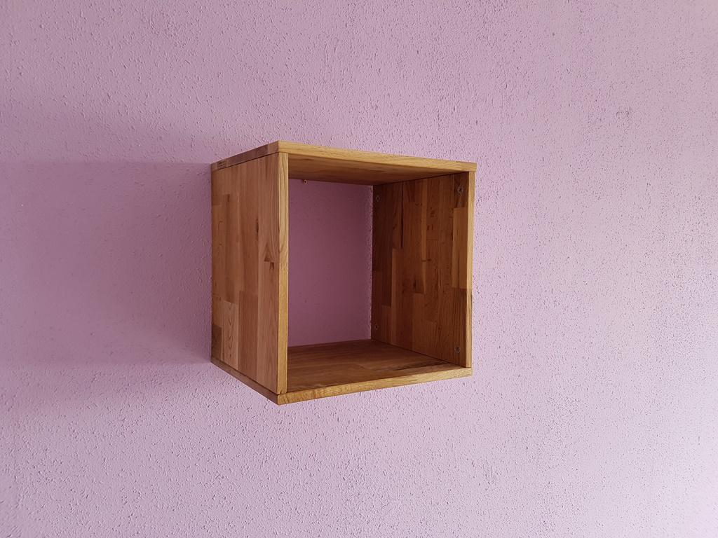 w rfelregal w rfel wandregal regal cube h ngeregal cd regal eiche massiv ge lt kaufen bei saku. Black Bedroom Furniture Sets. Home Design Ideas