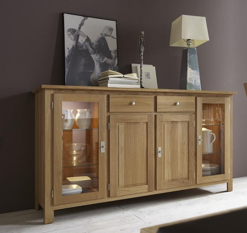 sideboard anrichte vitrine esszimmer wohnzimmerschrank. Black Bedroom Furniture Sets. Home Design Ideas