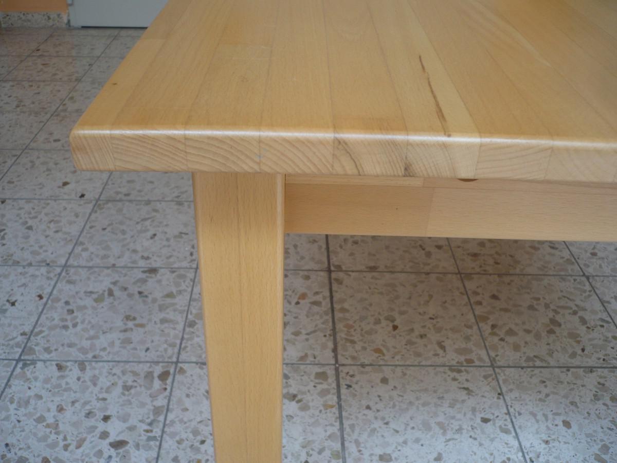 Tisch esstisch k chentisch esszimmertisch holztisch 120x80 for Esszimmertisch buche