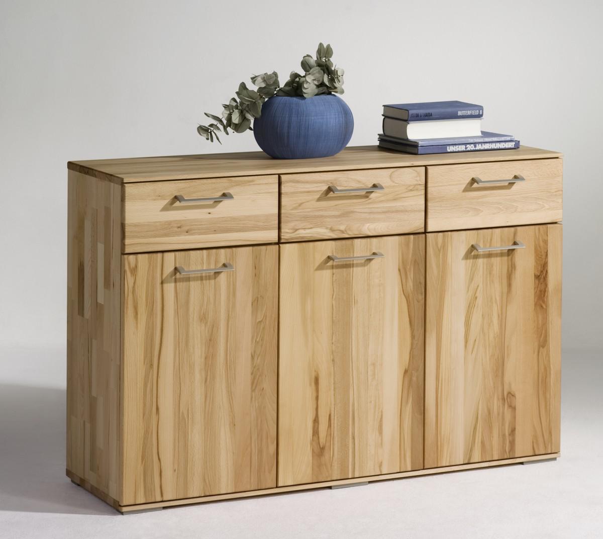 sideboard anrichte kommode t rd mpfer soft close kernbuche massiv ge lt kaufen bei saku system. Black Bedroom Furniture Sets. Home Design Ideas
