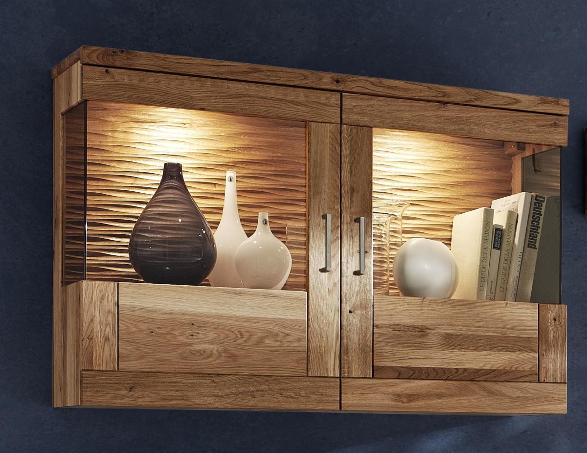 h ngeschrank wandschrank schrank vitrine wohnzimmer wildeiche ge lt modern kaufen bei saku. Black Bedroom Furniture Sets. Home Design Ideas