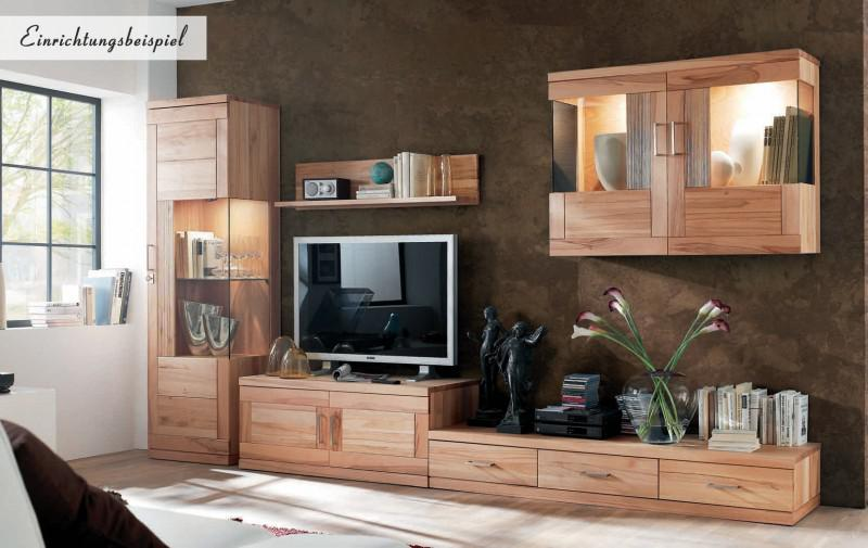 lowboard tv board tv lowboard tv m bel kernbuche massiv ge lt modern kaufen bei saku system. Black Bedroom Furniture Sets. Home Design Ideas