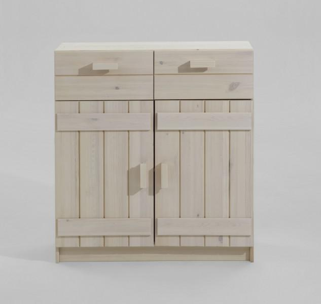 kommode kinderkommode anrichte sideboard kiefer massiv. Black Bedroom Furniture Sets. Home Design Ideas