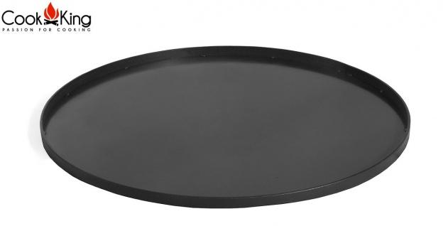 Bodenplatte für Feuerkorb Rohstahl 60 cm