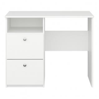 MEMPHIS Schreibtisch MDF Weiß