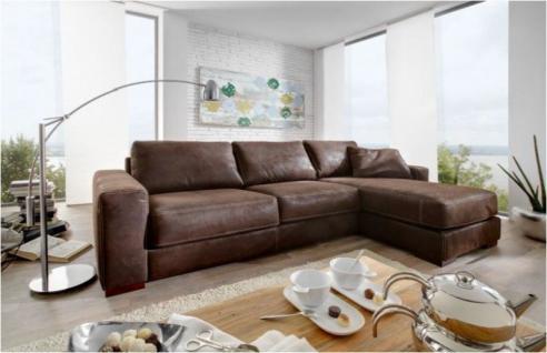 eckcouch leder g nstig sicher kaufen bei yatego. Black Bedroom Furniture Sets. Home Design Ideas