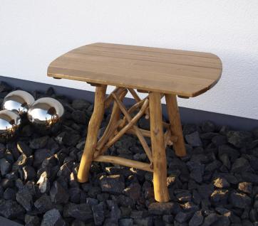 Knüppelholzgarnitur Gartenmöbel-Set Gartengruppe Gartenmöbel Garten-Set 4teilig - Vorschau 4