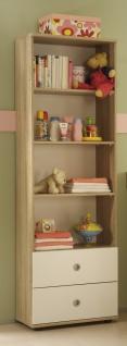 Sleepy Babyzimmer Komplettset Schrank + Regal + Wickelkommode + Bett MDF - Vorschau 3