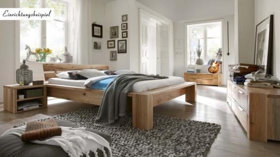 Bett Doppelbett massiv Eiche Balkeneiche geölt versch. Ausführungen - Vorschau 2