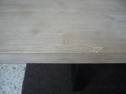 Tisch Esstisch Esszimmertisch 200x100 cm Akazie massiv Roheisen lackiert - Vorschau 3