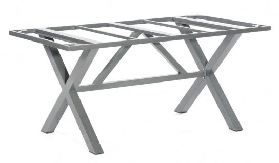 Base-Spectra Tischgestell Aluminium Anthrazit