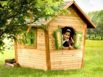 Spielhaus Hexenhaus Holzspielhütte Spielhütte Wunderland Holz TÜV geprüft - Vorschau 2