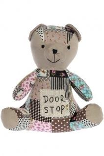 Türstopper Teddybär Boo Stoff&Polyester Mehrfarbig