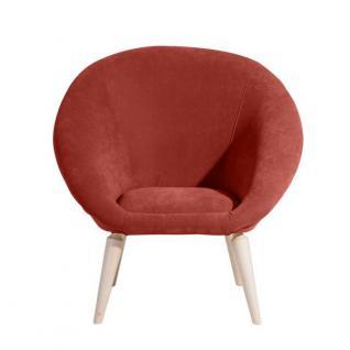 Sessel Retrosessel Retrostil Lounge Chair geschwungene Sitzschale klassik