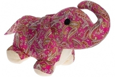 Türstopper Elefant Benjamin Stoff&Polyester Mehrfarbig