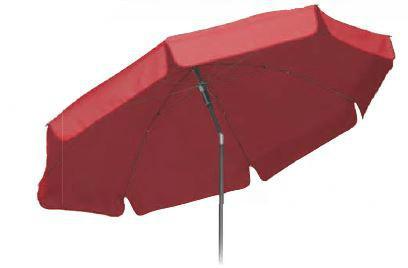 Sonnenschirm Garten Schirm wasserabweisend farbig Polyesterschirm Volant