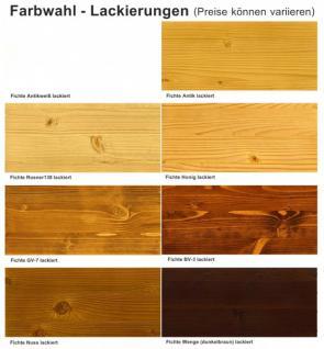 Anrichte Sideboard Highboard Kommode Fichte massiv honig lackiert nostalgisch - Vorschau 4