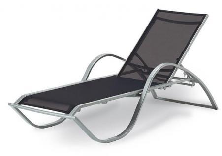 Gartenliege Relaxliege Sonnenliege Wellnessliege Gartenmöbel Stapelliege Lounge