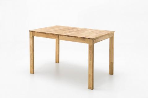 Esstisch Esszimmertisch Holztisch Küchentisch Tisch Wildeiche massiv 125x80 cm