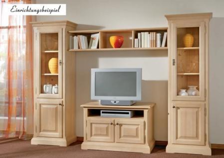 TV-Anrichte TV-Konsole TV-Board Lowboard TV-Tisch Fichte massiv gewachst - Vorschau 2