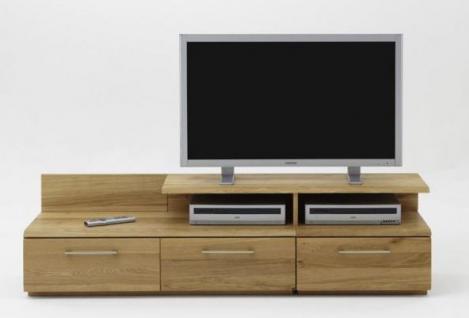 TV-Bank TV-Möbel TV-Tisch Hifi Kernbuche Wildeiche geölt massiv - Vorschau 1
