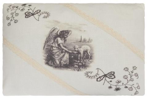Kissen Farmer's Girl Rechteckig Baumwolle&Polyester Weiß