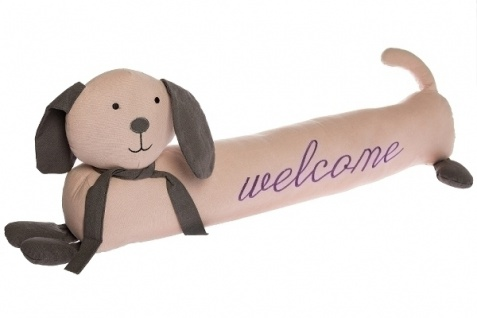Zugluftstopper Hund Mara Stoff&Polyester Mehrfarbig