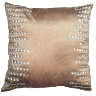 Kissen Green Luxury Baumwolle&Polyester Gold