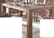 Esstisch Tisch Esszimmertisch Esszimmer Küche Nussbaum massiv geölt natur