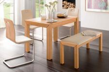 Essgruppe Essbankgruppe Küche Bank Stühle Tisch Kernbuche massiv geölt