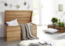Truhe Holztruhe Spielkiste Wäschetruhe Kernbuche massiv Schatzkiste Aufbewahrung