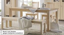 Esstisch Tisch Esszimmertisch Esszimmer Birke massiv gewachst
