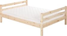 Flexa Classic Bett Einzelbett Kinderbett Jugendbett Kiefer massiv 140x200 cm