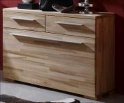 Kommode Schuhkommode Schuhschrank Garderobe Kernbuche massiv gewachst Schubladen