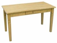 Tisch Fichte massiv gebeizt 160 x 85 gewachst Küchentisch Esszimmertisch Leinöl