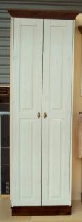Garderobenschrank Dielenschrank Kleiderschrank 2-trg. Landhausstil Kiefer massiv