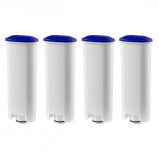 4 Wasserfilter Patronen Kalkfilter geeignet für alle DeLonghi Kaffeevollautomaten