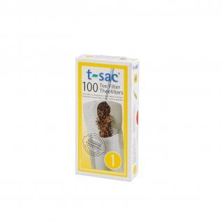 t-sac Teefilter Größe 1