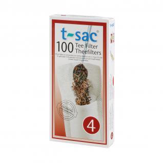 t-sac Teefilter Größe 4