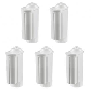 5 Filterpatronen geeignet für Siemens/Bosch, Gaggenau-, Neff-, VeroBar-Pro Kaffeevollautomaten